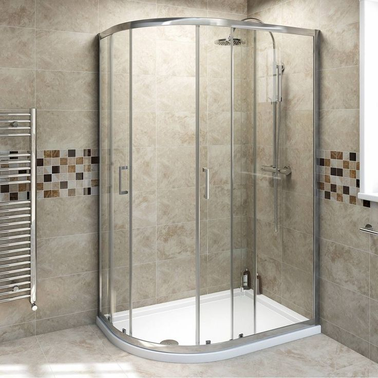 V6 Quadrant Offset Shower Enclosure 1200 X 800 Victoria