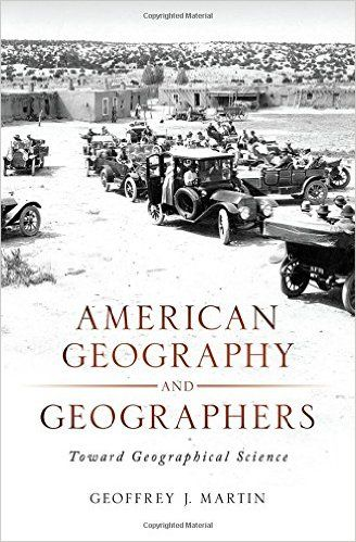 The rise of American geography as a distinctive science in the United States straddles the 19th and 20th centuries, extending from the post-Civil war period to 1970.