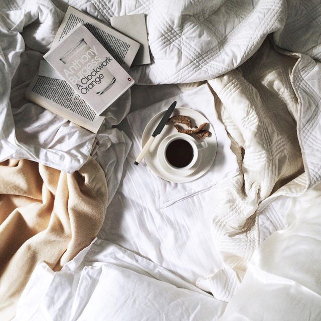 coffee in bed // LILI CLASPE