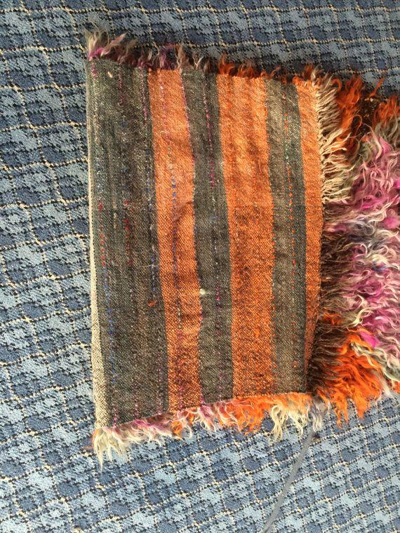 Flokati tappeto di stile Angora lana colorato di Volkancarpet
