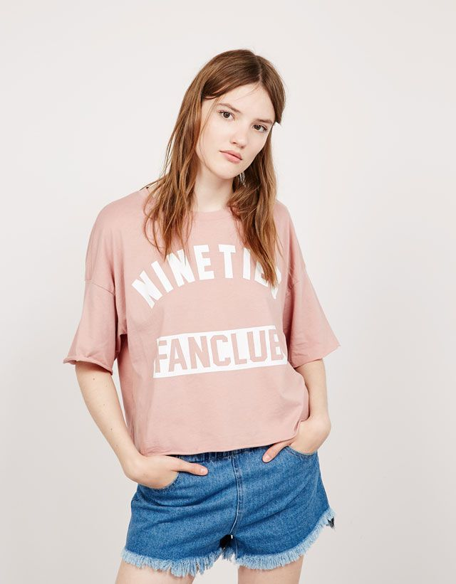 T- Shirts - NEW COLLECTION - WOMAN - Bershka Philippines