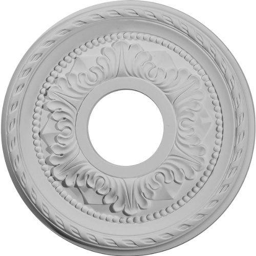 Ekena Millwork CM11PM 11 3/8-Inch OD x 3 5/8-Inch ID x 7/8-Inch Palmetto Ceiling Medallion Ekena Millwork http://www.amazon.com/dp/B008DNL1UE/ref=cm_sw_r_pi_dp_lLtyub1ZJ6AZG