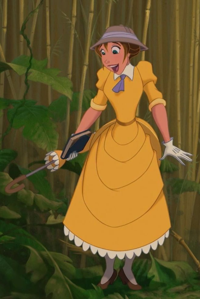 Day 31?- Honorable mention, Jane Porter from Tarzan. I had to give props to Jane, just because.