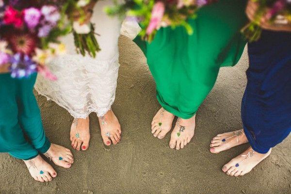 Sunset Beach Wedding in North Carolina