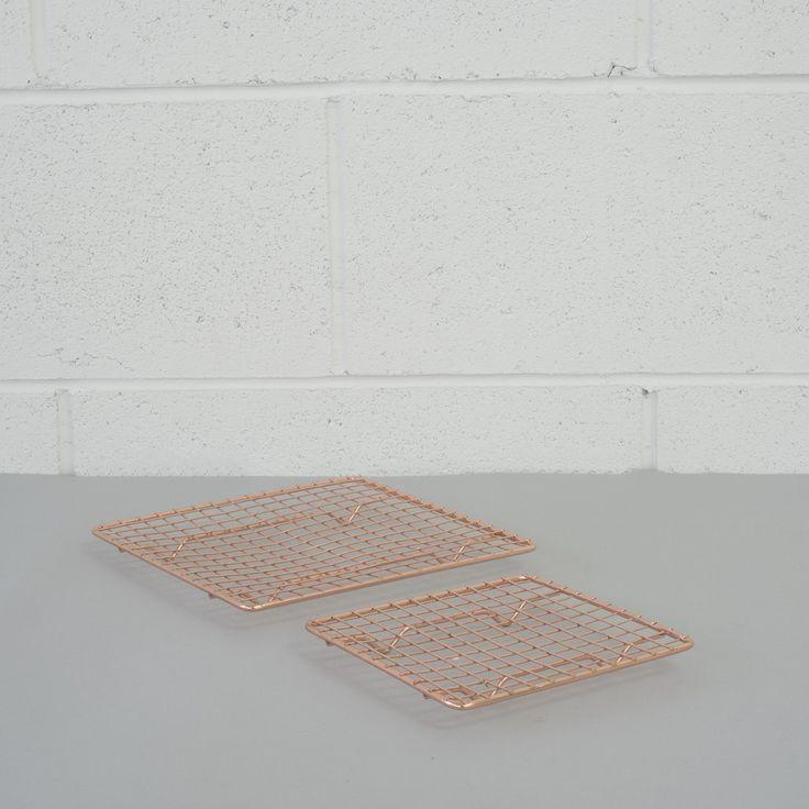 Copper Trivet Set