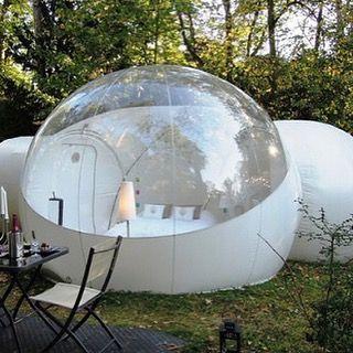 Inflatable bubble tent! AVAILABLE on www.awesomeinventions.com (New products are uploaded every day. You can view them on the front page of the website)