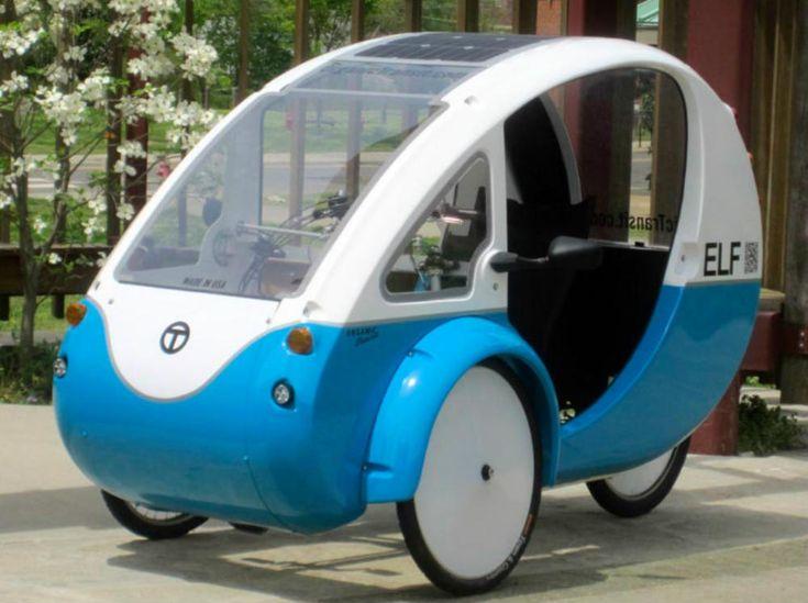 ELF: el triciclo eléctrico y solar