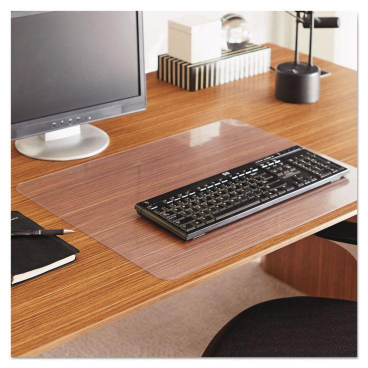 Es Robbins Everlife Clear Desk Pad 24 X 19 Esr120736