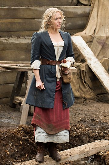 A Little Chaos (2014) - Kate Winslet as Sabine De Barra #CostumeDesign Joan Bergin