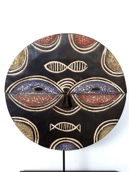 Maison de ventes aux enchères en ligne Catawiki: Masque africain Kidumu - BATEKE - R.D. Congo
