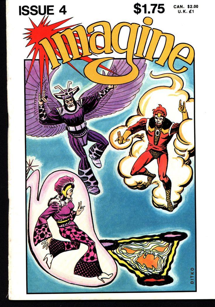 IMAGINE 4 Star Reach Science Fiction Horror Fantasy Anthology Alternative Comic Steve DITKO P. Craig Russell Dave Sim Masaichi Mukaide