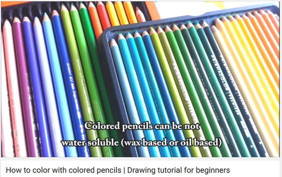 How to color with colored pencils   Drawing tutorial for beginners by Frankekka Art - YouTube