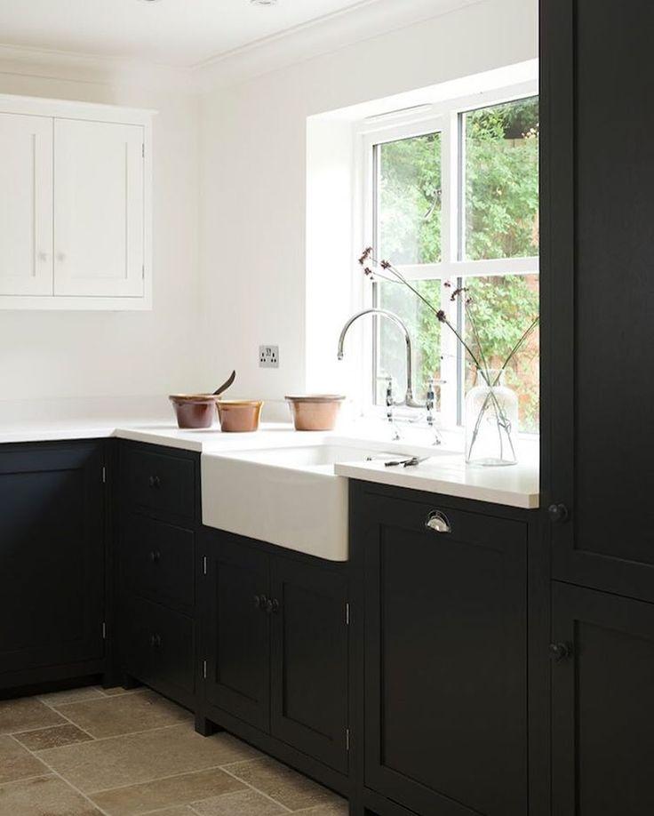 Mejores 393 imágenes de Kitchens Wood, Black, Grey en Pinterest ...