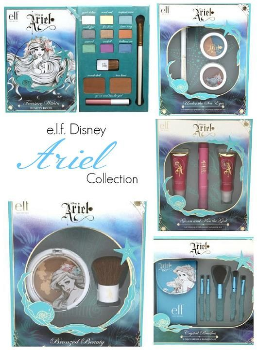 e.l.f. Disney Ariel Collection Now Available Online (plus reader swatches)  I want this so bad!!!!!!!!!!!!