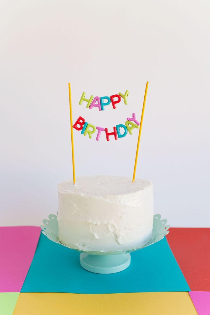 best 25 happy birthday cake topper ideas on pinterest birthday alphabet bead cake topper diy