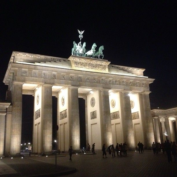 Brandenburger Tor w Berlin, Berlin