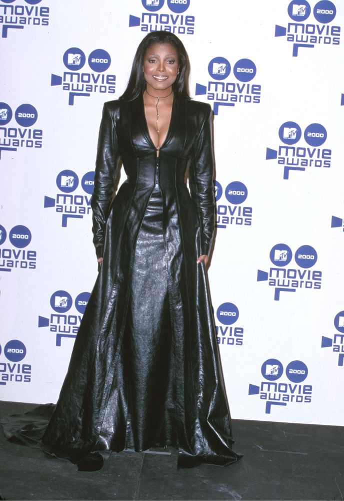 Janet Jackson 2000 Mtv Movie Awards Celebrities We Know