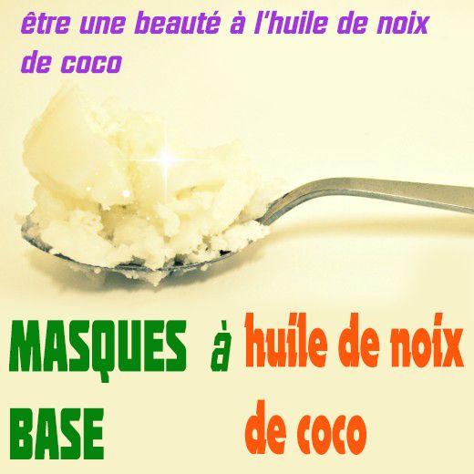 Top 3 Masque Visage Recettes Au huile de coco
