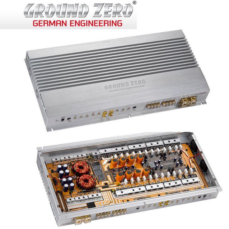 Amplifier Ground Zero GZNA 4330XII 4 Channel HQ Car Audio amplifier 2600W