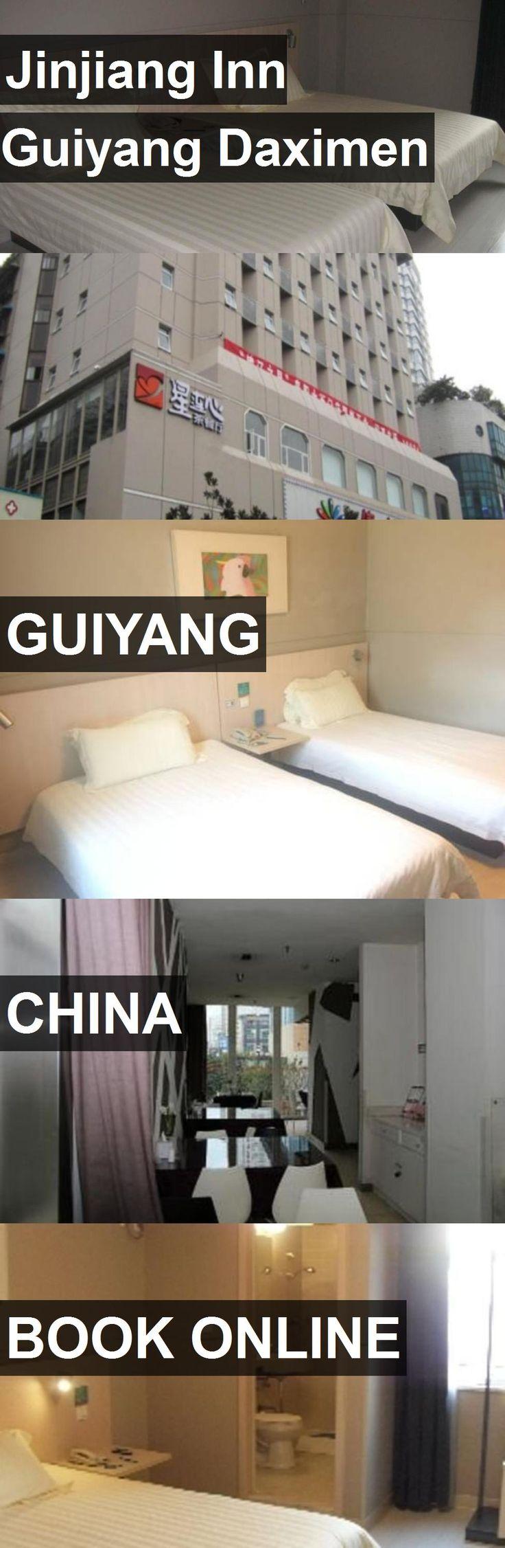 Hotel Jinjiang Inn Guiyang Daximen in Guiyang, China. For more information, photos, reviews and best prices please follow the link. #China #Guiyang #travel #vacation #hotel