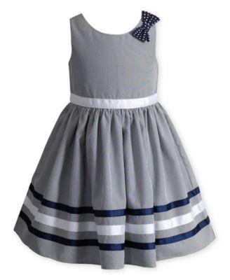 Sweet Heart Rose Little Girls' Gray Crinoline Dress