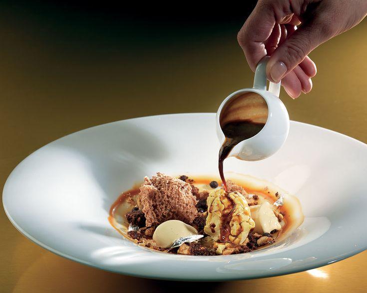 """""""Paesaggio marziano"""" dello chef Enrico Cerea del Ristorante da Vittorio di Bergamo  #lamadia #lamadiatravlefood #food"""