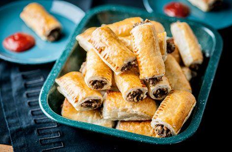 Alyn Williams' Turkey And Stuffing Sausage Rolls - Tesco Real Food - Tesco Real Food