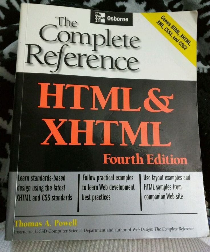 HTML & XHTML: The Complete Reference (Osborne Complete Reference Series)…