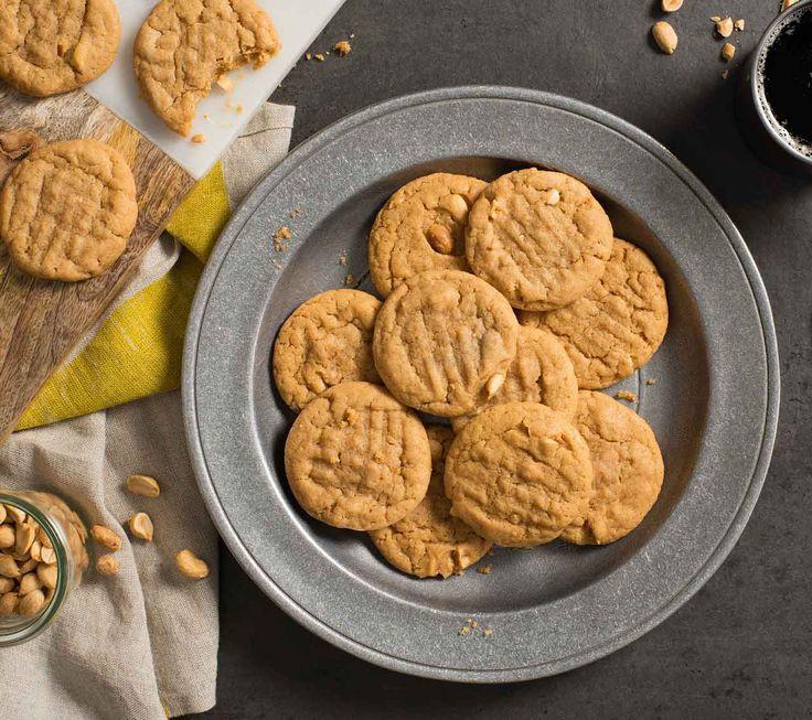 Biscuits au beurre d'arachide avec la pâte à biscuits aux possibilités infinies Becel