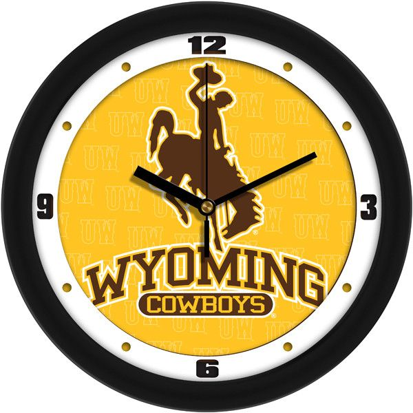 Wyoming Cowboys - Dimension Wall Clock