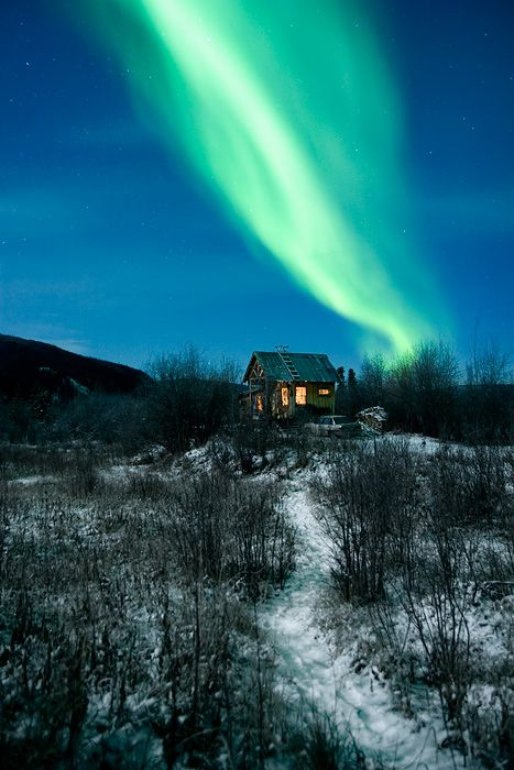 Dawson City - Yukon - Canada    Northern light II by Nicolas Biron