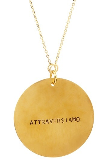 """Let's cross over. That's what the Italian phrase, """"Attraversiamo"""" means…Crossing over or passing through."""