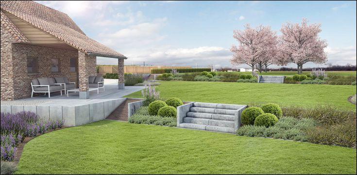 ECO Tuinarchitectengroep | 3D projecten | Klassieke tuin