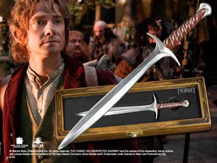 """It's more of a letter opener, really.""    If this wasn't out of stock, I would so get one.: Letter I, Letter Opener 61, Sting Letter, Letter Opener Amazon Office, Opener Amazon Office Products, A Letter, The Hobbit, Opener Product, Letters"