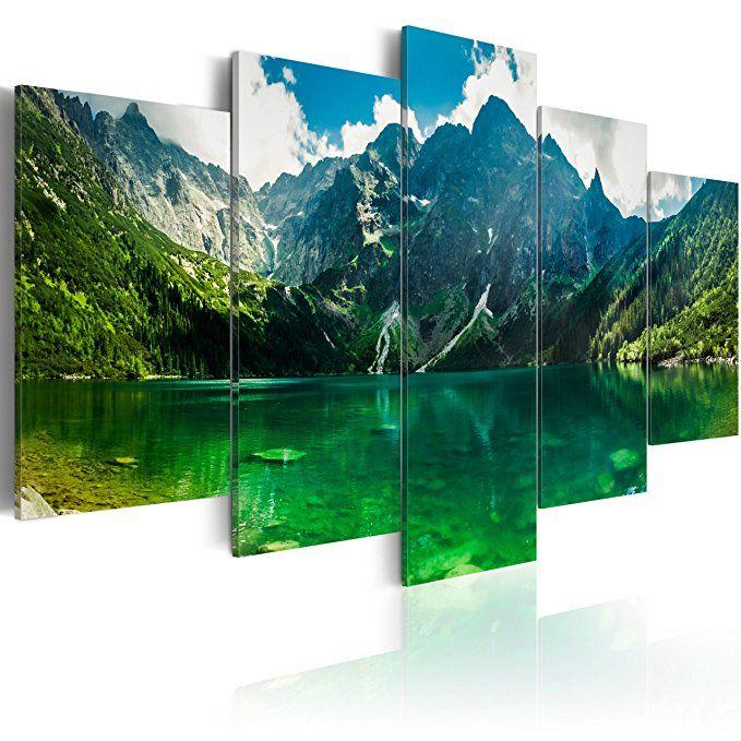 BD XXL murando - Akustikbild Landschaft 100x50 cm - Wandbilder