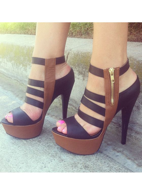 Triple Ladder Heels omg I would nevet wear these but they're cute.