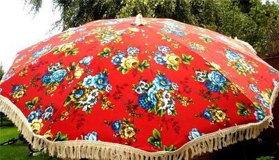 Fab Vintage Retro Stromeyer Garden Sun Umbrella Parasol