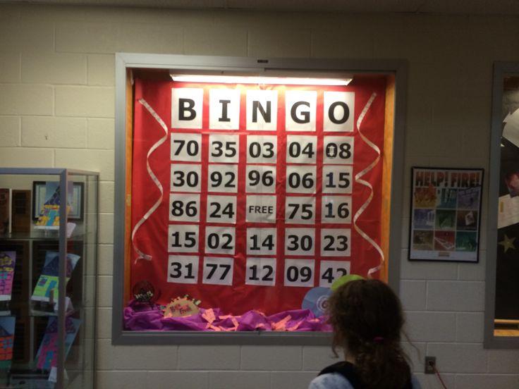 Must do! PTO Bingo Night Bulletin Board Display