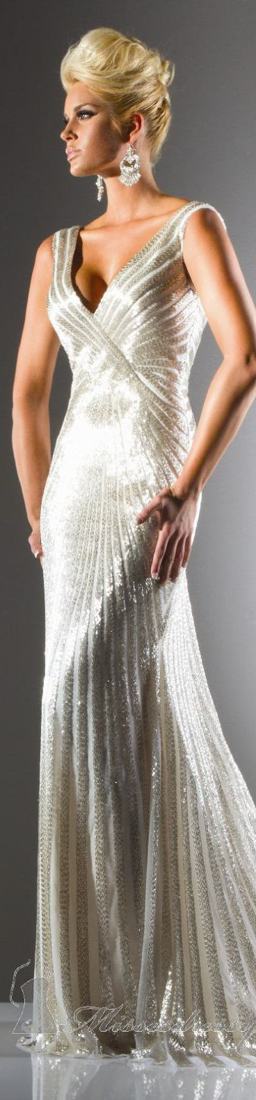 Tony Bowls Collections Formal dress #long #elegant #dress/reminds me of the dress Marilyn Monroe wore while singing happy birthday to the president