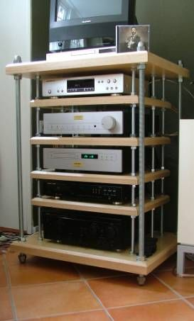ikea hack hi fi set up ikea hacks pinterest lack table nice and ikea. Black Bedroom Furniture Sets. Home Design Ideas