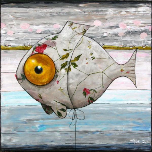 le carasson fleuri- Edouard Cribier