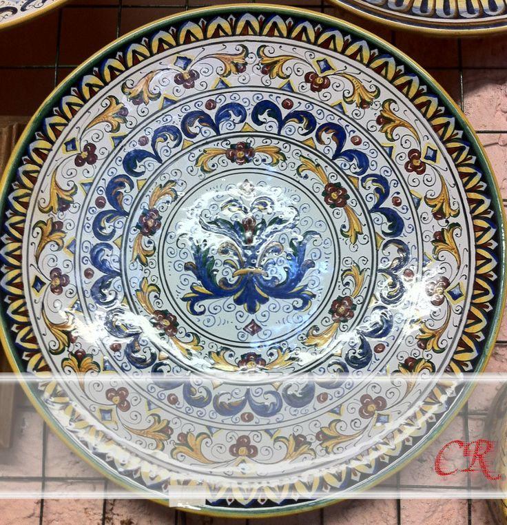 Piatto Rosone | Ceramiche Rinascita