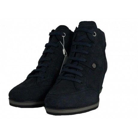 Sneakers con zeppa D Illusion A - Geox donna