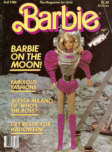 I used to read Barbie Magazine, before I moved on to more mature stuff like YM and Seventeen.