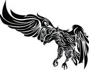 Home / Eagle Tattoo Designs / Tribal Eagle 2010