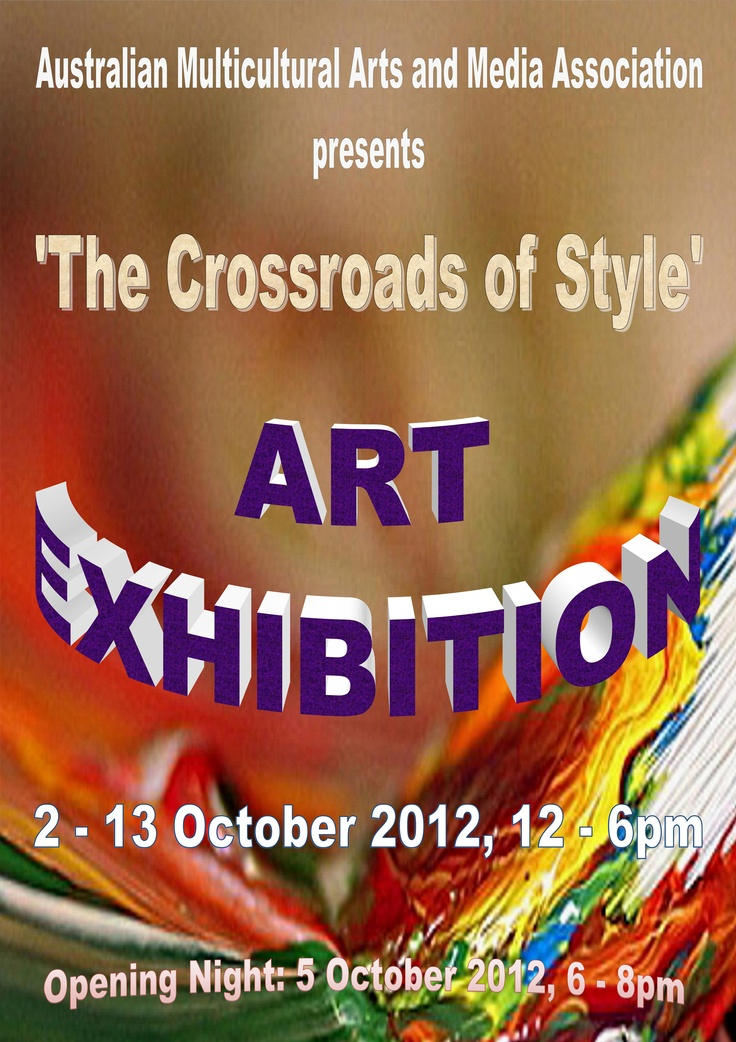 'The Crossroads of Style' - @dyuminart - #art #exhibition by Yelena Dyumin - www.dyuminart.com