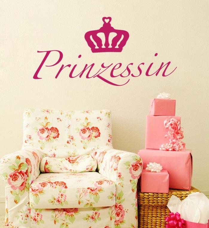 New Wandtattoo Prinzessin