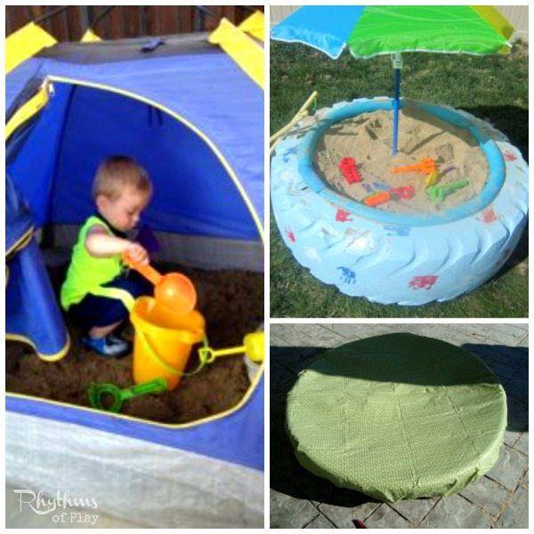 Best Sandbox Ideas For Kids Backyard Sandbox Sandbox Backyard