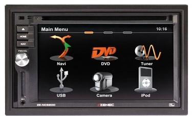 #Zenec ZE-NC620DMH - 2DIN navigatie speciaal voor #campers en #vrachtwagens. De speciale #navigatie software geeft ook hoogte en breedte aan zodat u met uw camper of vrachtwagen niet voor verrassingen komt te staan.