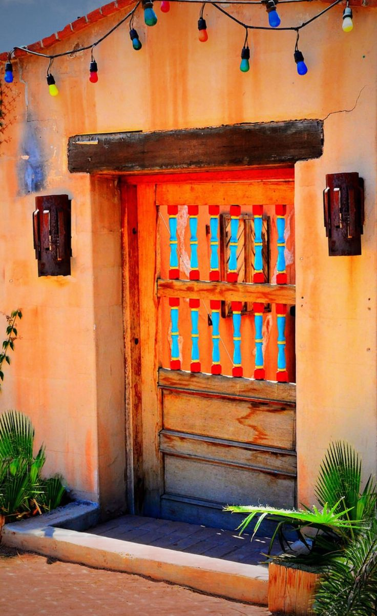 226 Best Images About Doors Of The Southwest And Mexico On Pinterest